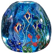 Aquarium bead by Pati Walton