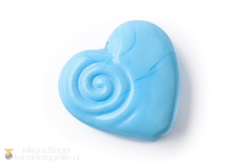 Hartje 30 mm Baby Blauw