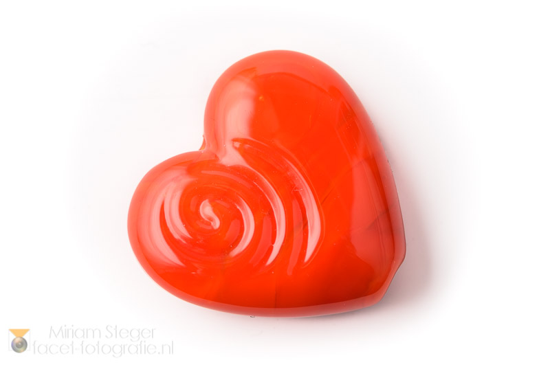 Hartje 30 mm Oranje Rood